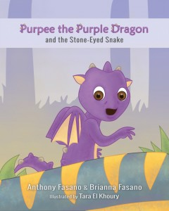 Purpee the Purple Dragon and the Stone-Eyed Snake
