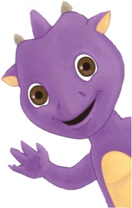 Purpee the Purple Dragon