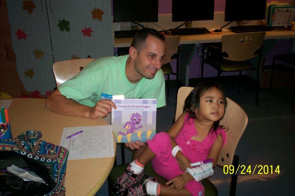 AF with Juree at Children's Hospital Los Angeles